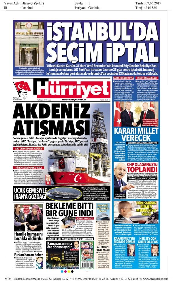 Seçim iptalini Türk basını nasıl gördü? galerisi resim 6