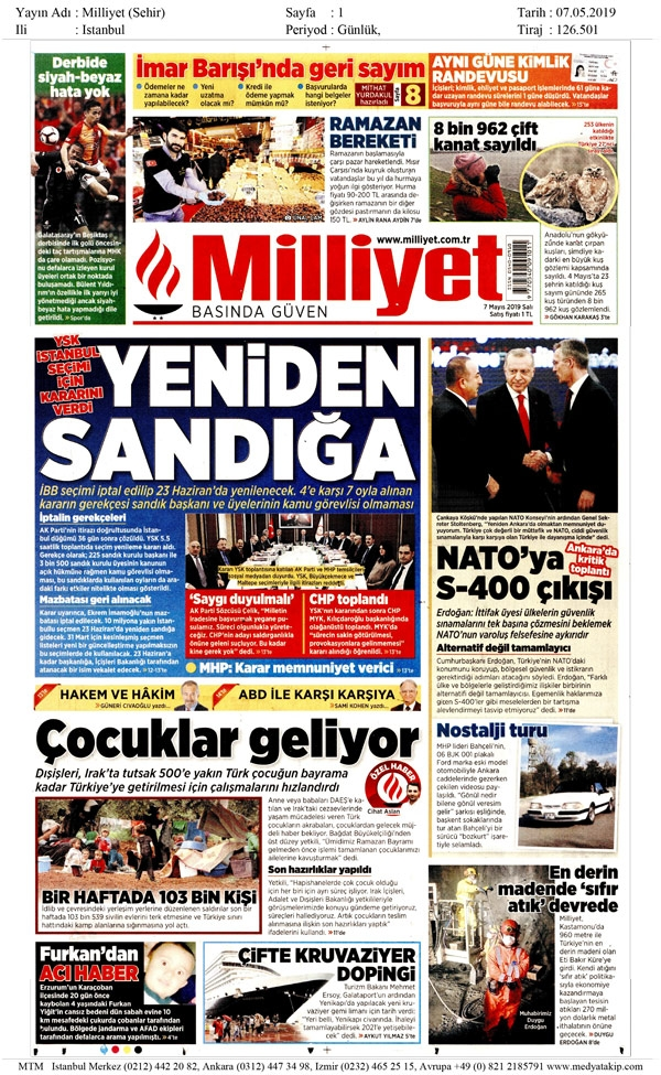 Seçim iptalini Türk basını nasıl gördü? galerisi resim 7