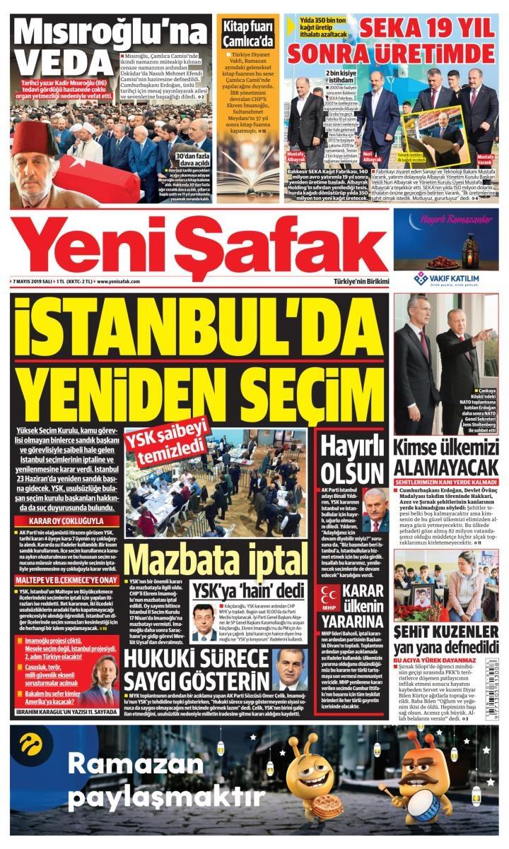 Seçim iptalini Türk basını nasıl gördü? galerisi resim 9