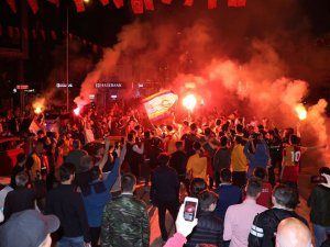 Galatasaray'ın 'Şampiyonluk' coşkusu