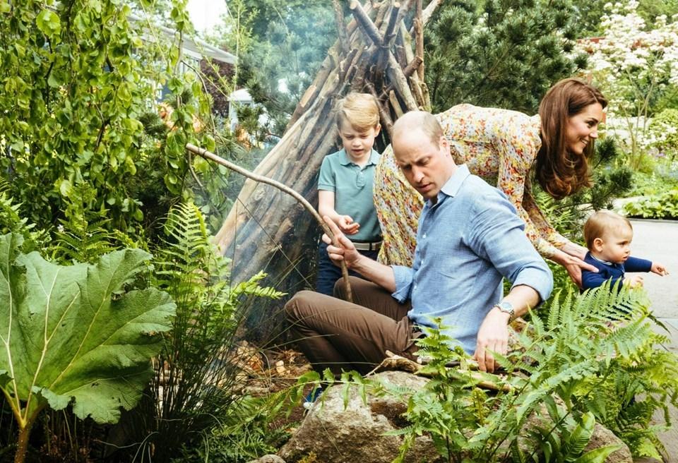 Kate Middleton ve Prens William ilk kez böyle görüntülendi galerisi resim 1