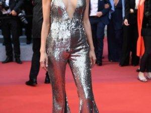72. Cannes Film Festivali'ne damga vuran güzeller