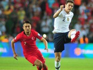 Türkiye - Fransa maçından muhteşem kareler