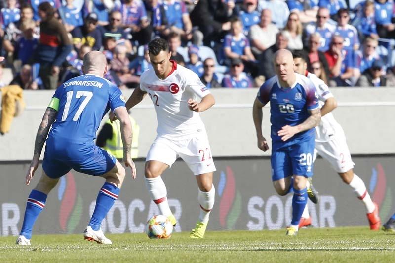 İzlanda - Türkiye maçından kareler galerisi resim 1