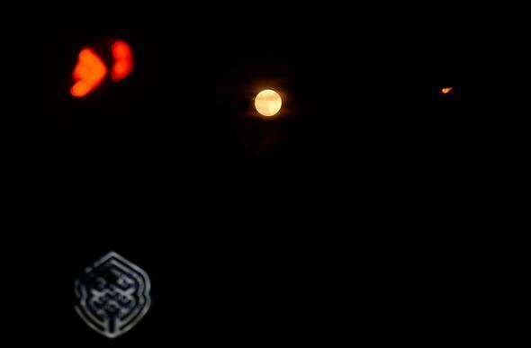 """''Parçalı Ay Tutulması"""" böyle görüntülendi! galerisi resim 1"""