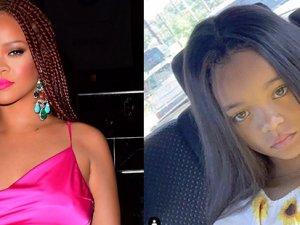 Rihanna'yı bile şaşırtan benzerlik!