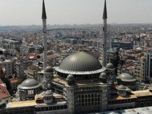 Taksim Camii için geri sayım başladı...