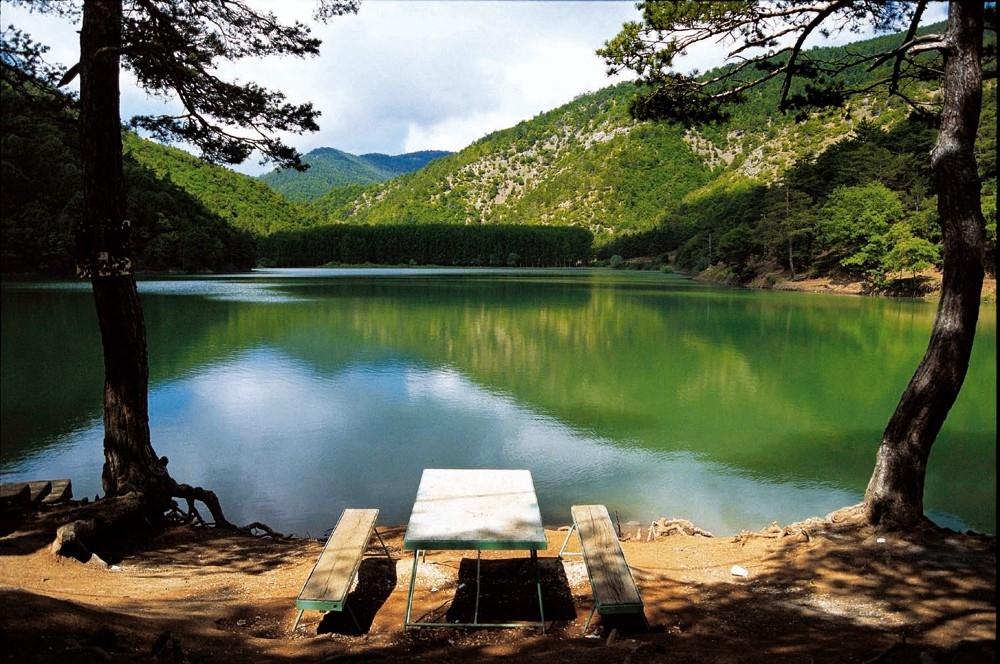 Amasya'da saklı cennet ''Borabay Gölü'' galerisi resim 1