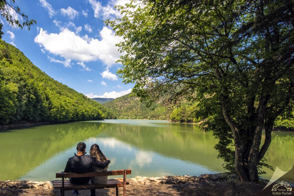 Amasya'da saklı cennet ''Borabay Gölü'' galerisi resim 13