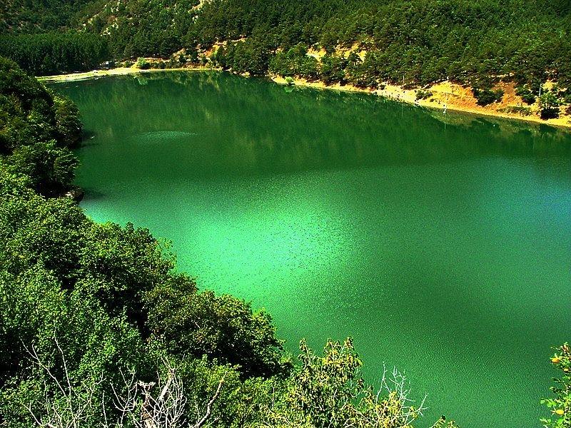 Amasya'da saklı cennet ''Borabay Gölü'' galerisi resim 4