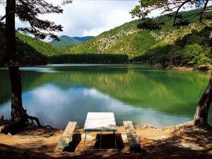 Amasya'da saklı cennet ''Borabay Gölü''