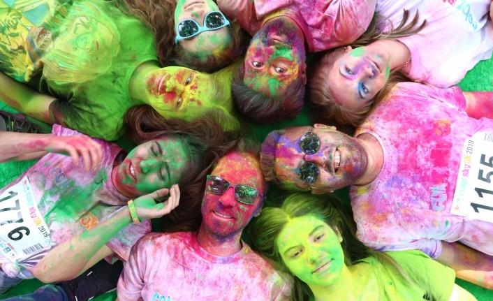 Bursa'da rengarenk koşu festivali... galerisi resim 1