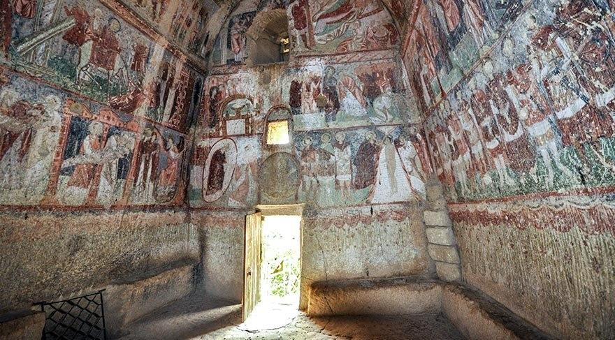 Dünya kültür mirası Çavuşin Kilisesi galerisi resim 8