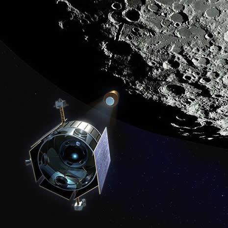 NASA  AY'I ROKETLE BOMBALADI galerisi resim 1