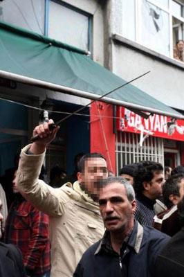 İSTANBUL'DA SİLAHLAR ÇEKİLDİ galerisi resim 13
