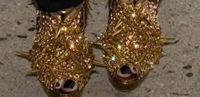 Ünlülerin garip ayakkabıları