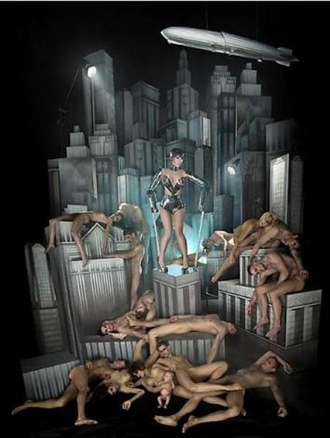 Lady Gaga, Çırılçıplak poz verdi galerisi resim 3