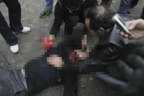 İran'da kan gövdeyi götürüyor! galerisi resim 1