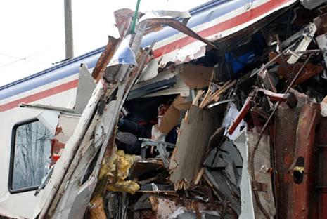 Bilecik'te tren kazası galerisi resim 1