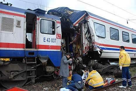 Bilecik'te tren kazası galerisi resim 3