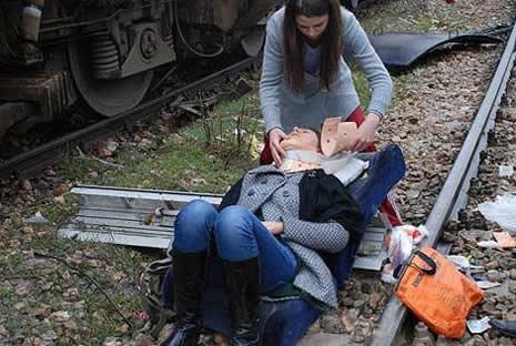 Bilecik'te tren kazası galerisi resim 4