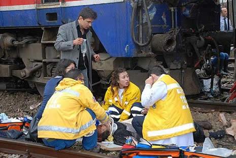 Bilecik'te tren kazası galerisi resim 5