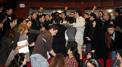 Egemen Bağış'a protesto galerisi resim 1