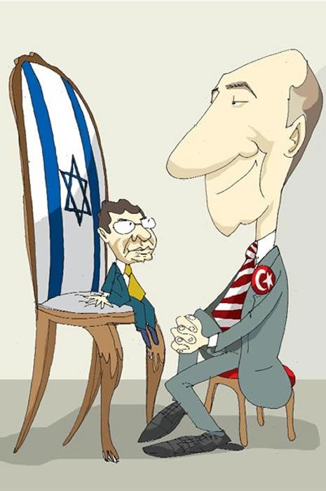 Karikatürlerle İsrail alçaklığı galerisi resim 5