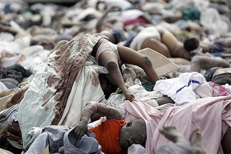Haiti'de cesetler havada uçuşuyor galerisi resim 7