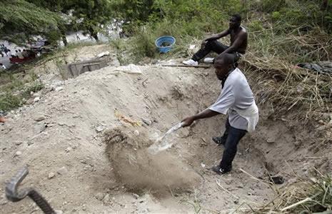 Haiti'de cesetler havada uçuşuyor galerisi resim 8