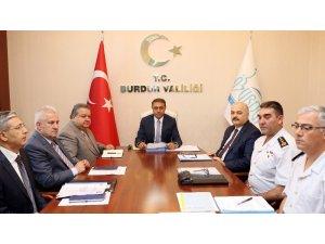 Burdur'da Seçim Güvenliği Toplantısı