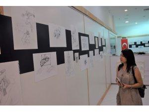 """Sanat ve Tasarım Galerisi'nde """"Eskiz"""" sergisi açıldı"""