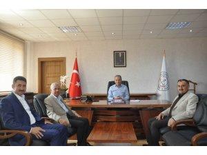 Başkan Cabbar İl Milli Eğitim Müdürü Ekinci'yi ziyaret etti