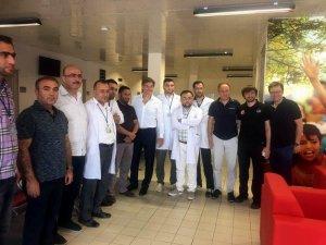 Ünlü kalp doktoru Öz, Kilis'te ziyaretlerde bulundu