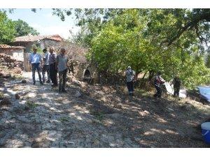 Şehzadeler Kaleköy'de çalışmalara başladı