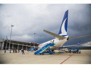 Bingöl'de bir ayda 18 bin yolcu uçtu
