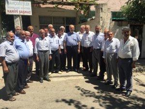 Belediye Başkanı Kutlu mahalle muhtarlarıyla bir araya geldi