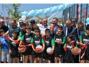 Necmettin Rama Spor Tesisi açıldı