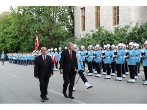 Cumhurbaşkanı Recep Tayyip Erdoğan yemin etmek için TBMM'ye geldi.