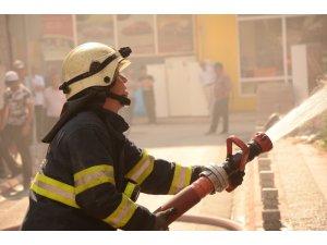 Eskişehir'de terk edilmiş binada çıkan yangın korkuttu