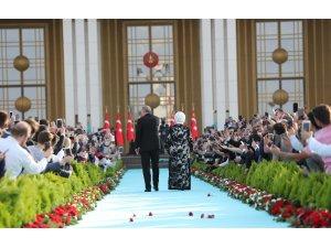 Yeni sisteme geçiş sonrası Başkan Erdoğan'dan ilk konuşma