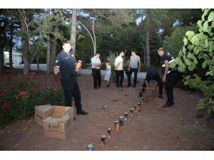 Sivas'ta 21 pare top atışı