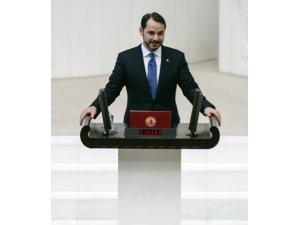 Hazine ve Maliye Bakanı Berat Albayrak oldu.