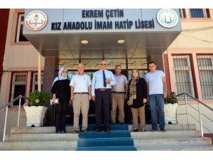 Milli Eğitim Müdürü Yavuz okullarda incelemelerde bulundu
