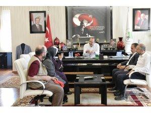 Kardelen Kültür Derneği'nden Başkan Akgül'e ziyaret