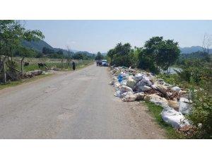 Hafriyat atıkları ile çevreyi kirletenler uyarıldı