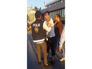 Taksim Meydanı'nda 'taciz' iddiası