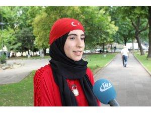 15 Temmuz'un genç gazisi Adviye Gül İsmailoğlu o geceyi anlattı