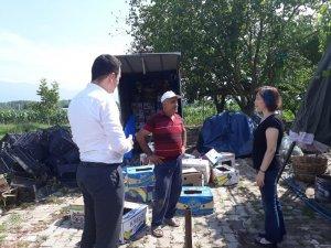 Kırsal hizmetler ekipleri köylerde hizmete devam ediyor