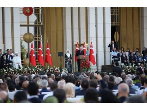 Rektör Karacoşkun Cumhurbaşkanı Erdoğan'ın yemin törenine katıldı
